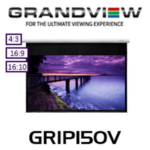 "Grandview Large IP Control Motorised Smart Projection Screens (120""-200"")"