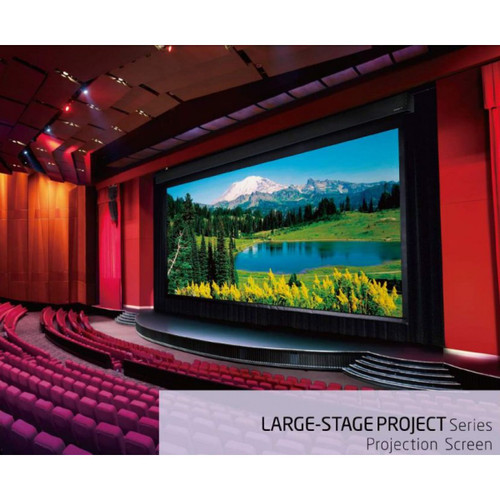 """Grandview X-Large Stage Series Motorised Projection Screens (350""""-400"""")"""