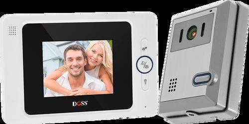 "Doss DHF42PC 4"" Hands Free Audio Video Intercom Kit"