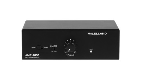 McLelland AMP-D20 2CH 20W Class-D Digital Amplifier