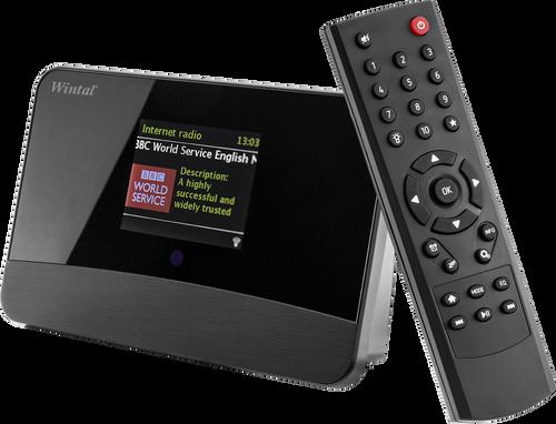 Wintal DAB17C FM DAB Tuner & Internet Radio With Bluetooth