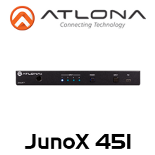 Atlona 4K HDR 4-Input HDMI Switcher with Auto-Switching & Return Optical Audio
