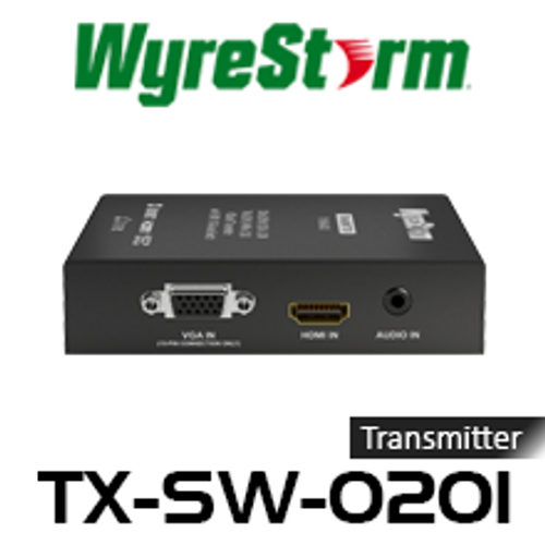 WyreStorm 4K HDBaseT Transmitter With HDMI/VGA Auto-Switch (70m)