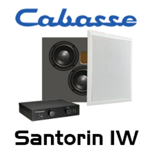 "Cabasse Santorin IW Dual 6.5"" In-Wall Subwoofer System"