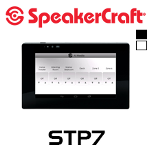 """SpeakerCraft STP7 7"""" Touch Panel For Use With MRA-664"""