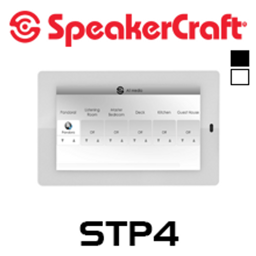 """SpeakerCraft STP4 4.7"""" Touch Panel For Use With MRA-664"""
