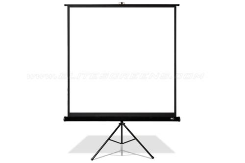 """Elite Screens Tripod Pro MaxWhite 1:1 Portable Projection Screens (85 - 119"""")"""