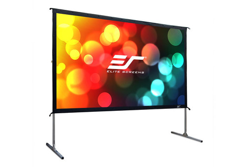 """Elite Screens Yard Master2 16:9 Portable Outdoor Front/Rear Projection Screens (110 - 135"""")"""