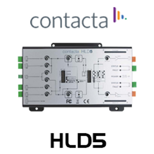 Contacta HLD5 2-Channel Compact Standalone Hearing Loop Driver