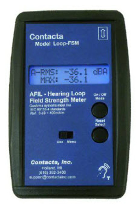 Contacta FSM Audio Frequency Induction Loop Field Strength Meter
