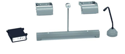 Contacta Dual Overhead Speaker With Recessed Bridge Bar Speech System