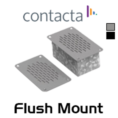 Contacta Flush Mounted Speaker & Microphone