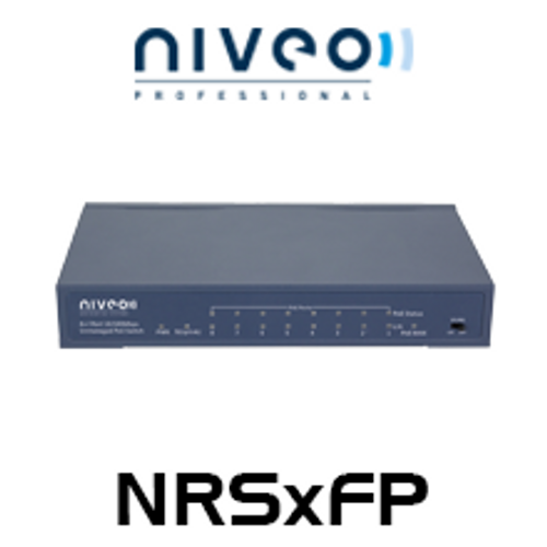 Niveo NR 5/8-Port Fast Ethernet Switch with PoE
