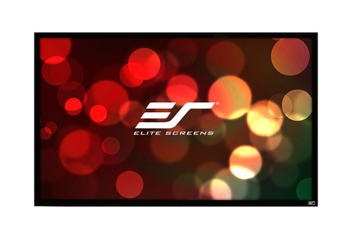 "Elite Screens ezFrame 4K Fixed Frame Rear Projection Screens (84-135"")"