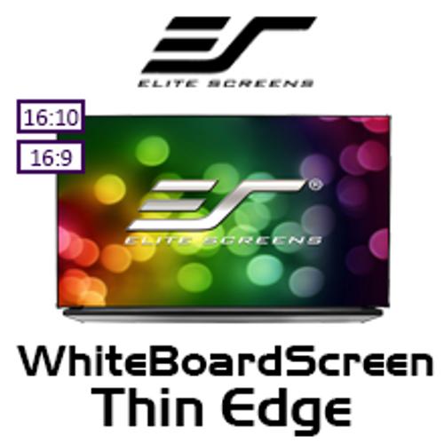 "Elite Screens WhiteBoardScreen Thin Edge Whiteboard Projection Screens (90/97/133"")"