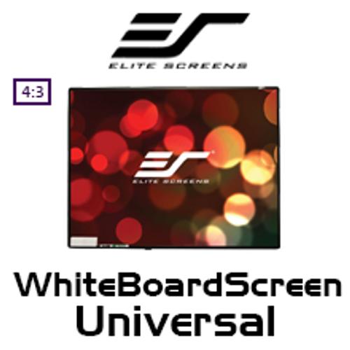 """Elite Screens WhiteBoardScreen Universal 4:3 Whiteboard Projection Screens (30""""/58""""/77"""")"""