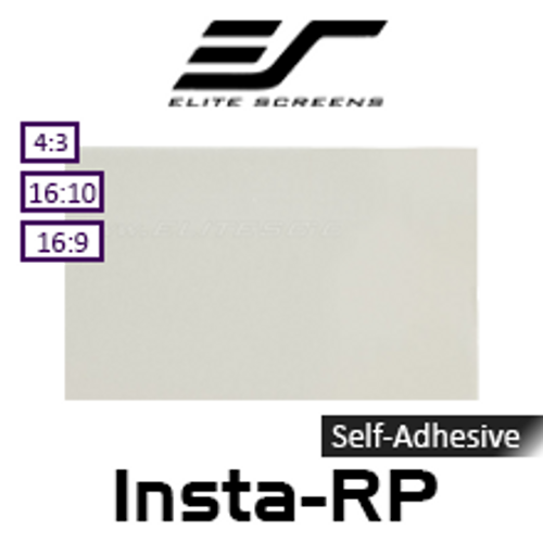 """Elite Screens Insta-RP Self-Adhesive Optical Rear Projection Film (68-121"""")"""