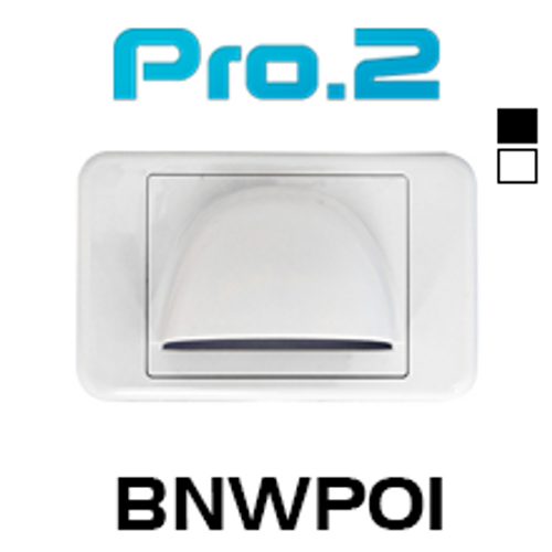 Pro.2 Bullnose Wallplate