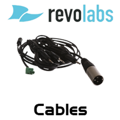 Revolabs Cables For FLX Conference Phone & Microphone System
