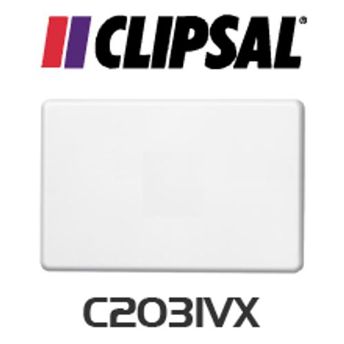 Clipsal C2000 Series Blank wallplate