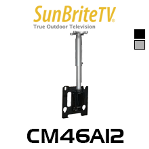 "SunBriteTV CM46A12 All-Weather Tilt Height Adjustable Ceiling Mount (42""-55"")"