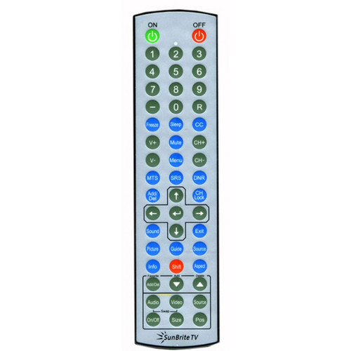 SunBriteTV WR01 Weather-Proof Standard TV Remote Control