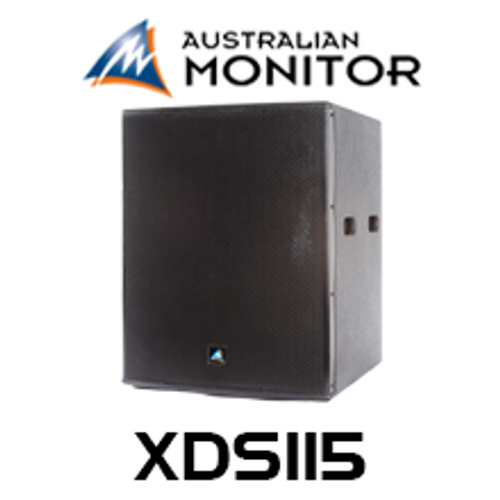 "Australian Monitor XDS115 15"" Front Loaded Passive PA Subwoofer"