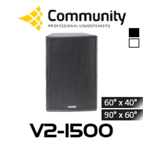 """Community Veris V2-1500 15"""" Full Range Loudspeaker (Each)"""