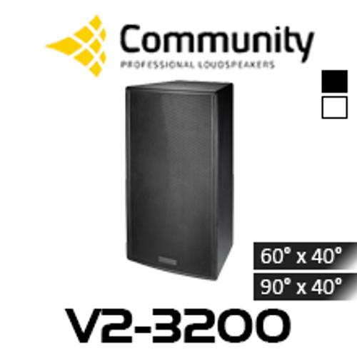 """Community Veris V2-3200 12"""" Full Range 3-Way Loudspeaker (Each)"""