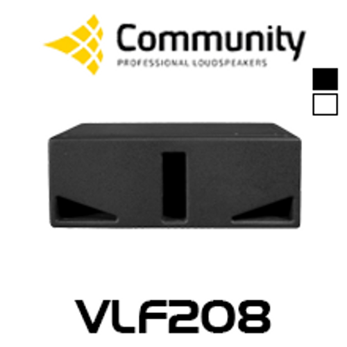 "Community VLF208 Dual 8"" Compact Subwoofer"