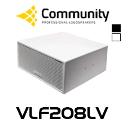 "Community VLF208LV Dual 8"" Large Volume Compact Subwoofer"