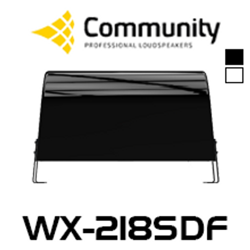 "Community W2-218SDF Dual 18"" Premium All-Weather Subwoofer"