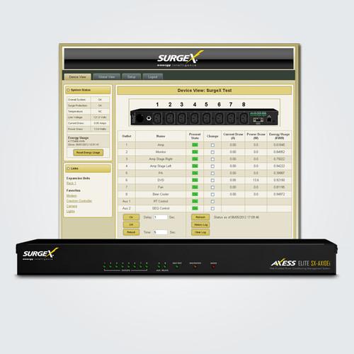 SurgeX Advanced SX-AX10Ei IP Enabled Surge Eliminator