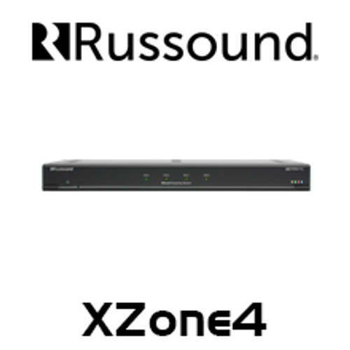 Russound XZone4 4 Stream 4 Zone Audio System