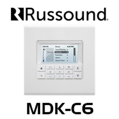 Russound MDK-C6 Multiline Display Keypad