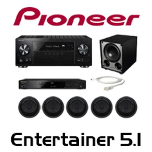 Pioneer VSX-832 Entertainer 5.1 In-Ceiling Kit