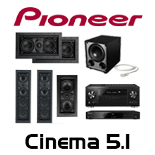 Pioneer VSX-LX302 Cinema 5.1 In-Wall Kit