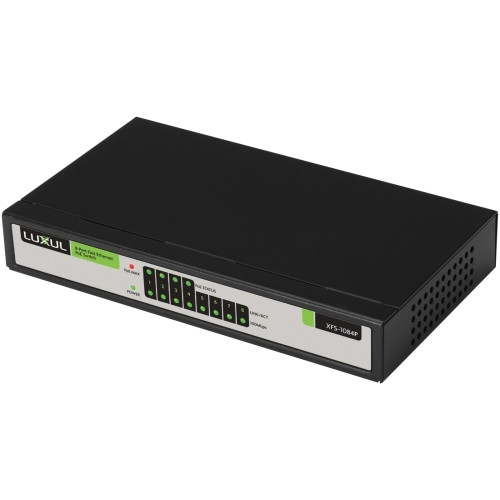 Luxul XFS-1084P 8-Port / 4 PoE Fast Ethernet Switch
