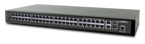 Luxul XMS-5248P 52-Port Gigabit PoE+ L2/L3 Managed Switch