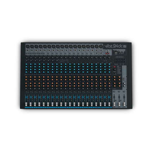 LD Systems VIBZ24DC 24-Ch Mixing Console With DFX And Compressor