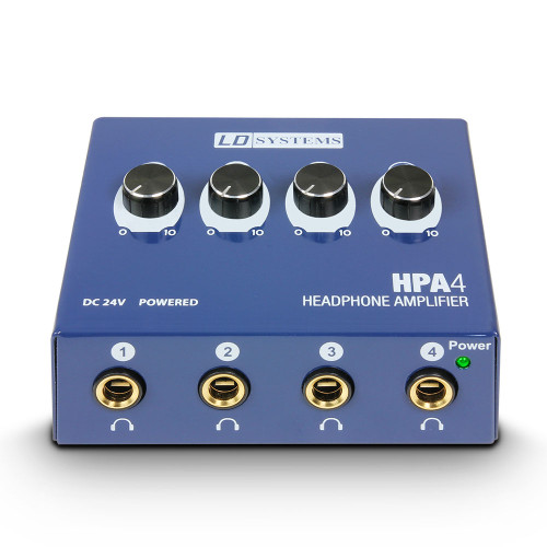 LD Systems HPA4 4-Channel Headphone Amplifier