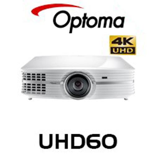 Optoma UHD60 3000 Lumen 4K UHD HDR DLP Projector