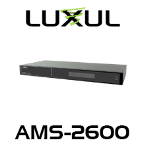 Luxul AV AMS-2600 26-Port Gigabit L2/L3 Managed Switch