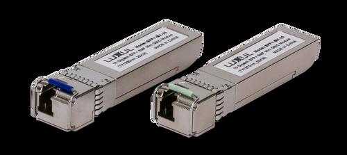 Luxul XSA-SFP10GSM 10 Gigabit SFP+ Single-Mode Mini Gbic Module (Pair)