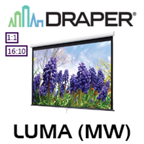 Draper XT1000E Luma 1:1 Manual Projection Screen (Matt White)