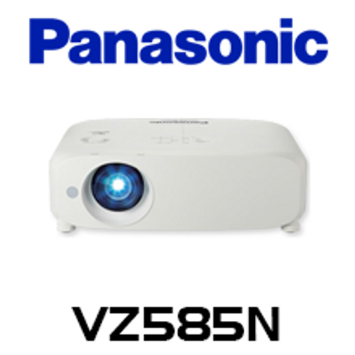 Panasonic PT-VZ585N WUXGA 5000 Lumens Digital Link Wireless Portable LCD Projector