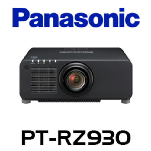 Panasonic PT-RW930BE WXGA 9400 Lumens Digital Link Laser 1-Chip DLP Projector