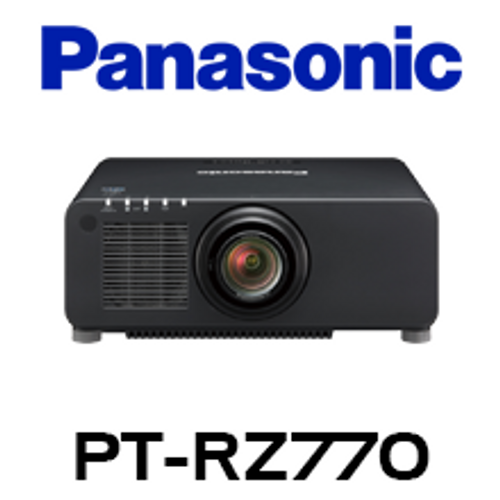 Panasonic PT-RZ770 WUXGA 7000 Lumens Digital Link Laser 1-Chip DLP Projector