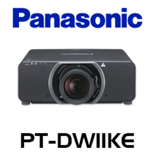 Panasonic PT-DW11KE WXGA 11,000 Lumen Dual Lamp 3-Chip DLP Projector