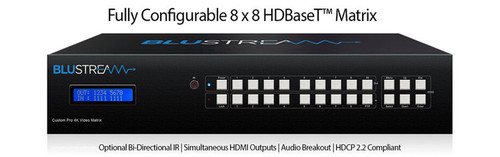 BluStream Custom Pro 8x Modular Bays Matrix Hub (chassis only)